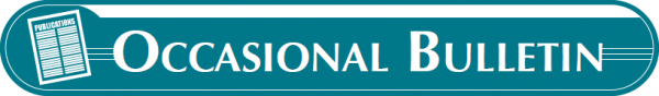 Occasional Bulletin Logo